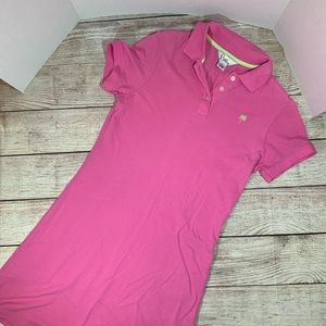 Lilly Pulitzer Pink Polo Dress